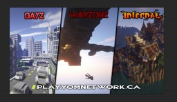 - YomNetwork - InfectedRPG DayZ - WarZone PvP Minecraft Server