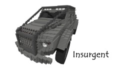 GTA Vehicle Insurgent  |  Realistic Car Minecraft Project