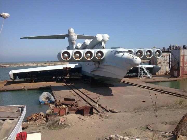 10 Passenger Vehicles >> Lun-class ekranoplan Minecraft Project