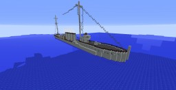 USS Sampson (DD-63) Minecraft Map & Project