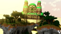 Caelum, The Palace in the Sky Minecraft Map & Project