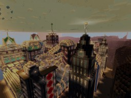 Rapture City - Old Town Minecraft Project