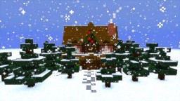 christmas adventure inspired villa Minecraft Map & Project