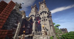 Foudres-Pics - A Medieval/Fantasy Citadel Minecraft Map & Project