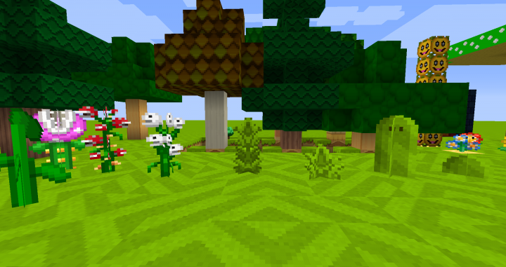 Minecraft Wii U Edition Mario Mashup Pack for PC Minecraft Texture Pack