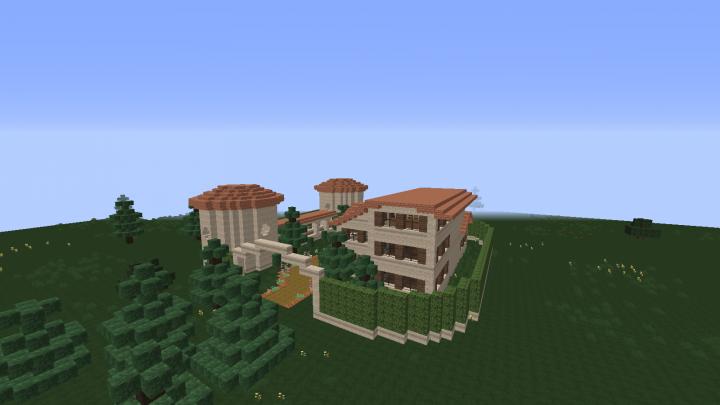 Maison De Campagne Minecraft Project