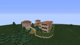 Maison de campagne Minecraft Map & Project