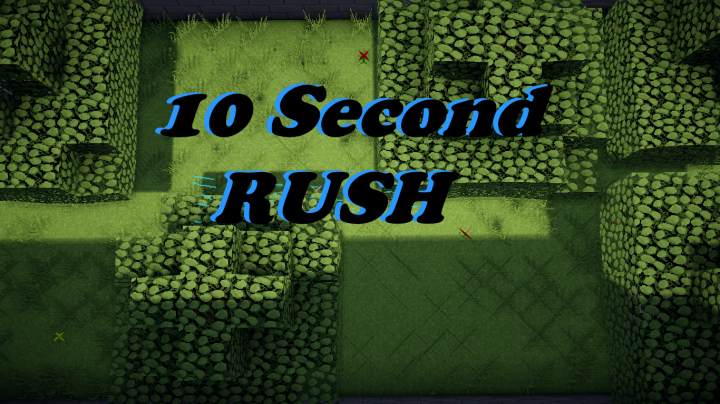 [Map][1.9.4] 10 second Rush! - пройди уровень за 10 секунд!