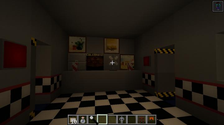 Fnaf Minecraft Project