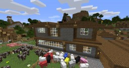 Farm House (Medieval Style) Minecraft Map & Project
