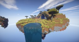 Skyland map for HiPlay.pl Minecraft Map & Project