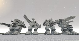 MILITARY ARMORED MECHS Minecraft Project