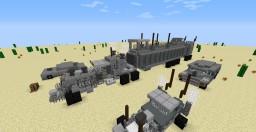 Mad Max | War Rig Minecraft Project