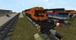 GE ES44AC Minecraft Map & Project