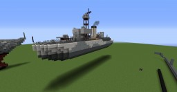 Castle Class Corvette Minecraft Map & Project
