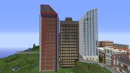 Building pack and skyscraper Minecraft Project