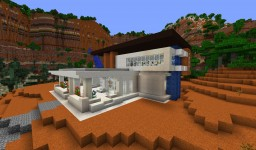 Mу modern house Minecraft Map & Project