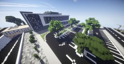 Modern hospital Minecraft Map & Project