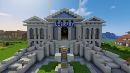 The National Library of Greece Minecraft Map & Project