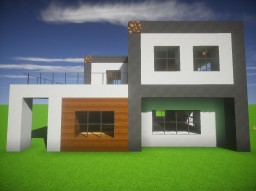 Small Modern House #2 Minecraft Map & Project