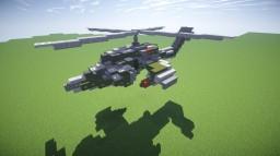 """Russian chopper """"Mil Mi-24"""" Minecraft"""