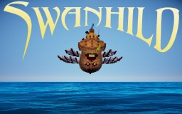 Swanhild - A Flying Trading Ship Minecraft Map & Project