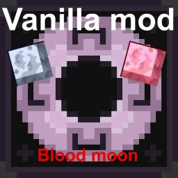No mod - Blood moon Minecraft Map & Project
