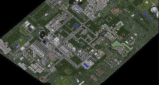 карта майнкрафт the walking dead