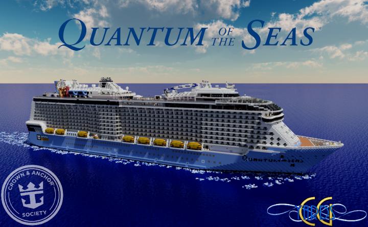 Quantum of the Seas 1:1 Scale Cruise Ship [Full-Interior] [+
