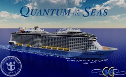 Quantum of the Seas 1:1 Scale Cruise Ship [Full-Interior] [+Download] Minecraft Project