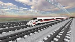 Deutsche Bahn ICE 3 EMU Minecraft Project
