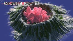 Crystal Island [512x512 download+schematic] Minecraft Map & Project