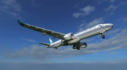 Airbus A350-900XWB Cathay Pacific [+Download] Minecraft Map & Project
