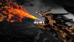 Reign of Fire - Dragon Organic Minecraft Map & Project
