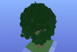 Huge tree Minecraft Project