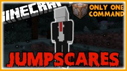 Jumpscares in One Command | Herobrine, Slenderman, and More! Minecraft Map & Project