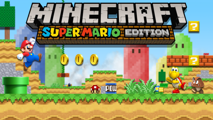 Minecraft Wii U Edition Mario Mashup Pack For PC Minecraft Texture Pack - Minecraft ender games kostenlos spielen