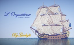 L'Orgueilleux - A 6th rate Frigate by Gaulight + Download Minecraft Map & Project