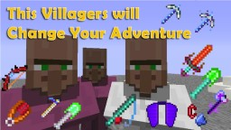 3 Awesome Villager In One Command Minecraft Map & Project