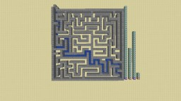 Maze Generator and Solver Minecraft Project