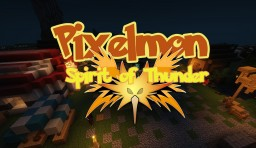 Pixelmon Spirit of Thunder. [Adventure Mapa] [pixelmon 4.2.5]