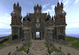 The Cathedral of Rahen #WeAreConquest Minecraft Map & Project