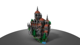 Nerevia Palace (75x75) Plot Build Minecraft Map & Project