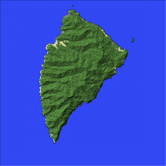Stratis Terrain - From Arma 3 to Minecraft Minecraft Project
