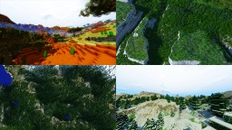 Domum Regis | 8K Custom Terrain | 12 Custom Biomes | World Download Minecraft