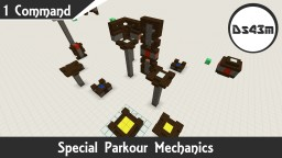 Special Parkour Mechanics | One Command | 1.9.4 Minecraft Map & Project