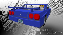 Project: Velocity - Street Racing in Minecraft! [REMASTERED] [ALPHA]