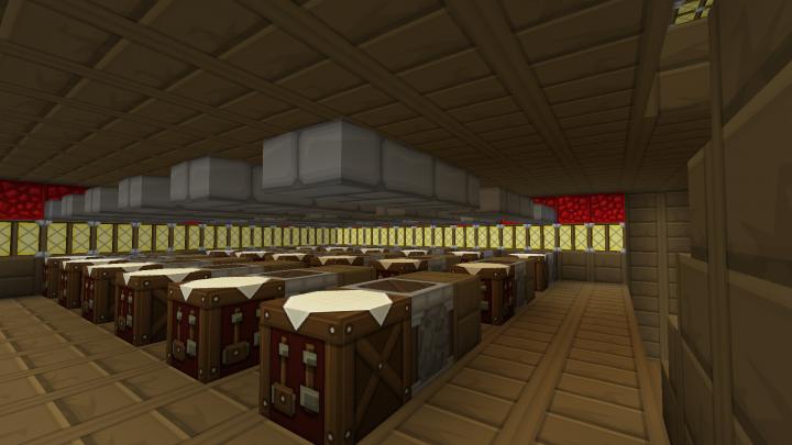 How to build minecraft vault