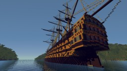 HMS Victory - First rate ship of the Royal Navy Minecraft Map & Project