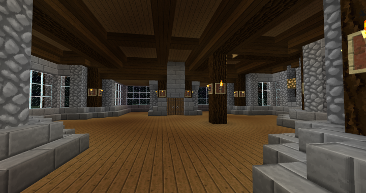 Spruce Mansion Minecraft Project